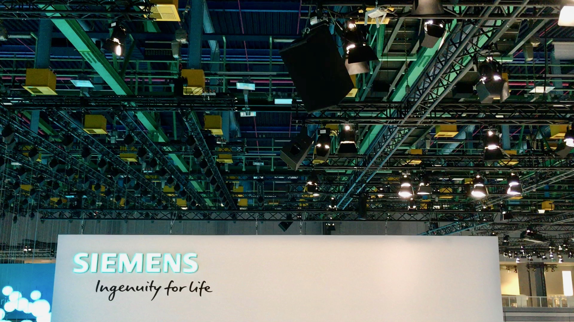 Siemens Messestand